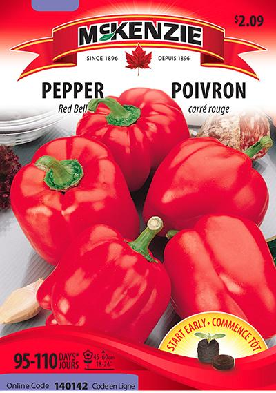 Poivron 'Red Bell' / 'Red Bell' Sweet Pepper - Pépinière
