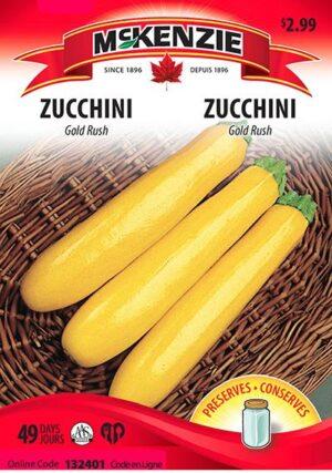 Zucchini 'Gold Rush' / 'Gold Rush' Zucchini - Pépinière