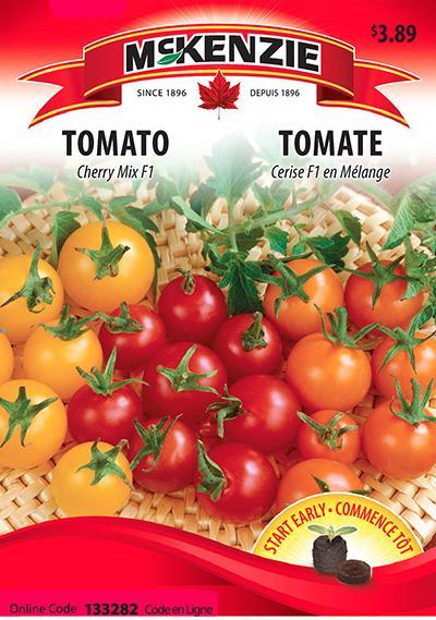 Tomate Cerise Mélange F1  / Cherry Tomato Mix F1 - Pépinière