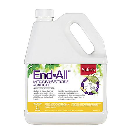 SAFER'S® END ALL® insecticide concentré 4L - Pépinière
