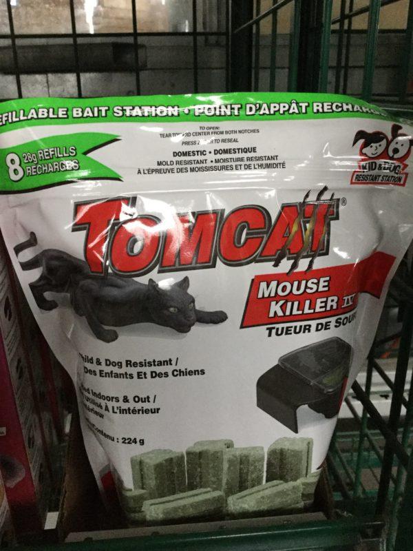 Tomcat Point d'appât rechargeable 224g - Pépinière