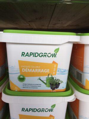 Rapidgrow démarrage 10-52-10 1kg - Pépinière