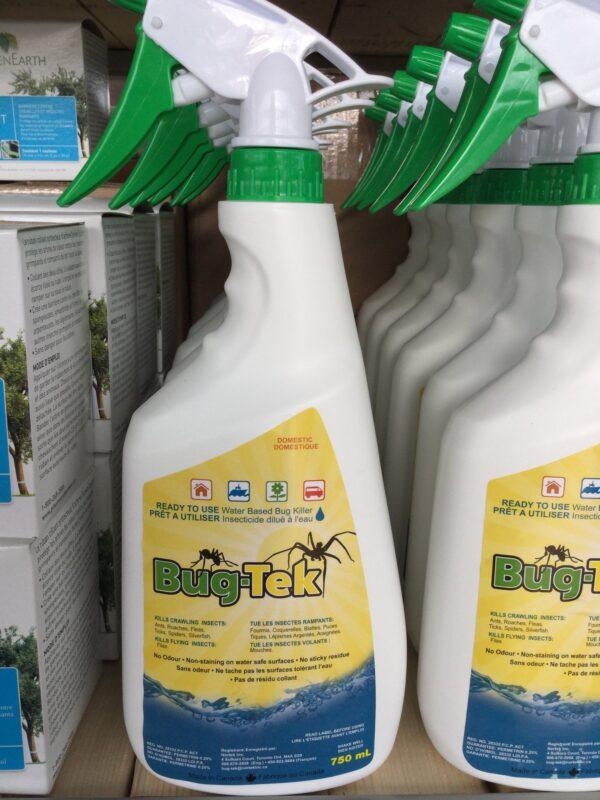 Bugtech insecticide Naturel 750ml - Pépinière
