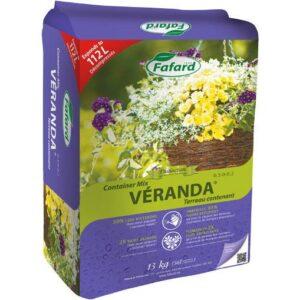 Terreau contenant Véranda® (Ballot compressé) 26kg - Pépinière