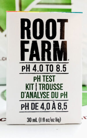 Trousse d'Analyse du pH de 4,0 à 8,5 / pH Test Kit 4.0 to 8.5 - Pépinière